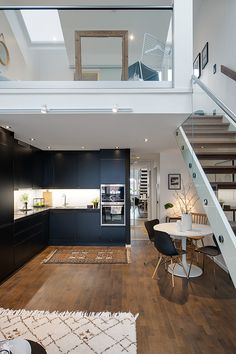Duplex Apartment Interior By Slade Architecture Basement