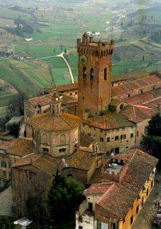 San Gimignano Tuscany Italy Canvas Print Canvas Art by