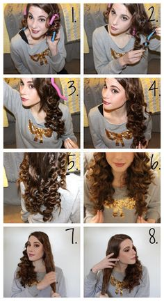 1000 images about no heat curls on pinterest no heat no heat curl and hair curler