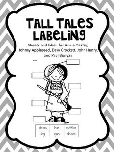 Tall Tales and American Legends from Kiwi-Steph on
