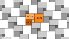 French Pattern Amp Ashlar Pattern Set Sizes 8x88x1616x1616x24 Mosaic Tile Patterns