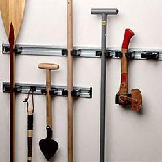 Garage Organization Hanging Garden Tools Garage Tool Organizer