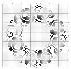 Free Bear Silhouette Crochet Chart. Follow this graph to