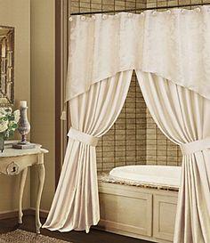 Shower Curtains High End Blue Gray Bathroom Wonderful Designer