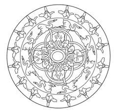 verschillende rechthoekige mandala's op deze site