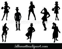 Cheerleader silhouette Vector Download Here #Silhouette #