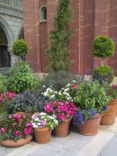 6 Patio Pots Designs Gardening Pots And Flowers