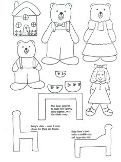 1000+ images about Goldilocks and the 3 Bears on Pinterest