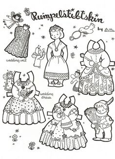 Paper dolls, Mexican girls and Dolls on Pinterest