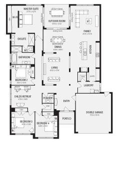 Stroud Homes Montego 450 Classic Floor Plan Fabulous House