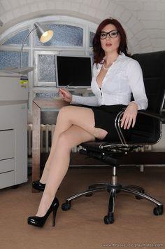 white top black midi skirt