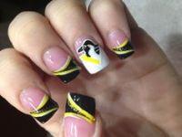 1000+ images about Hockey Nail Art on Pinterest | Hockey ...