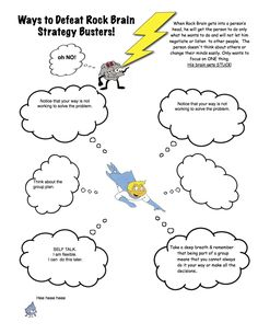 Intro to Unthinkables handout: A worksheet that describes