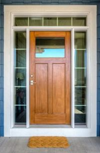 exterior French Doors with sidelights and transom. Change ...
