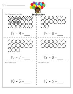 1000+ images about Subtraction Practice Worksheets on