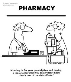 Cartoons About Prescription Drugs and Medications