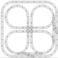 Gauges, Track and Model train layouts on Pinterest