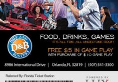 Dave Busters Coupons 7 Printable Coupons For September