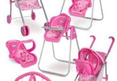 Graco High Chair Polka Dots