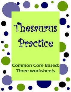 1000 images about Thesaurus and Glossaries on Pinterest