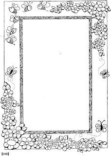 A dove page border. Free downloads at http://pageborders
