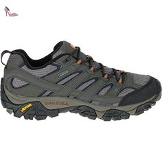 merrell moab gtx chaussures de randonnee basses femme marron beluga