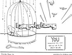 This free coloring page is based on the book of Joel. It's