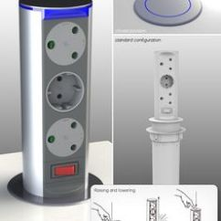 Pop Up Electrical Sockets For Kitchens Kitchen Design Showrooms 1000+ Images About Powerlogic Product Range On Pinterest ...