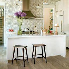 A boho-chic kitchen