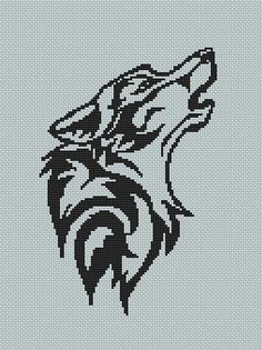 1000+ images about Cross Stitch Wolf Patterns Plus Native