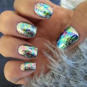1000 ideas metallic nails