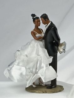 1000 Images About African American Cake Toppers On