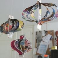 1000+ images about Recycled Ornaments on Pinterest ...