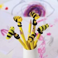 bumble bee, pipe cleaner | Pipe Cleaner Bee | BabY ShoweR ...