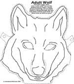 Masks, Wolf pup and Wolf mask on Pinterest
