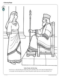 The statue in King Nebuchadnezzar's dream! A coloring page