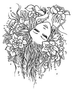 1000+ images about Coloring for adults on Pinterest