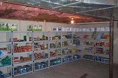 Basement Pantry Ideas On Pinterest Food Storage Canned