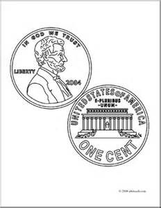 Pennies, Coloring and Lincoln on Pinterest