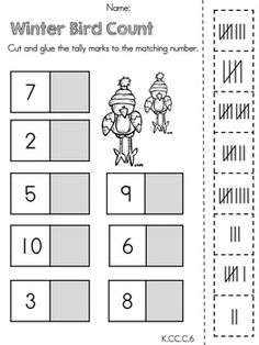 This is an activity to help children practice making tally