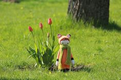 Fibi the fox made by
