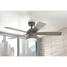 GE Treviso 52 in. Oil Rubbed Bronze Indoor LED Ceiling Fan