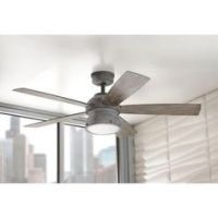 GE Treviso 52 in. Oil Rubbed Bronze Indoor LED Ceiling Fan ...
