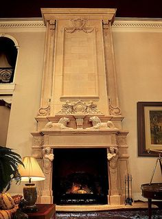 1000 Images About Grand Fireplace On Pinterest