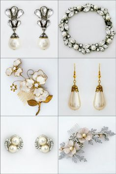 1000 images about vintage bridal jewelry accessories on pinterest vintage pearls bridal