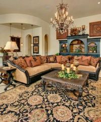 old world tuscan living room | Interior Design for the ...