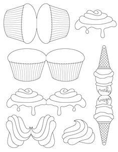 Ice Cream Craft for Preschoolers via Tim's Printables