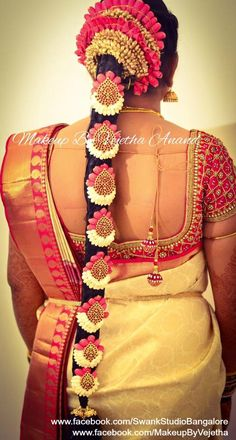 bridal braids braid hairstyles and sari blouse on pinterest