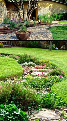 brick flower bed drainage - woodworking