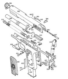 Pin by Enrique Morón on WEAPONS: FIREARMS DIAGRAMS